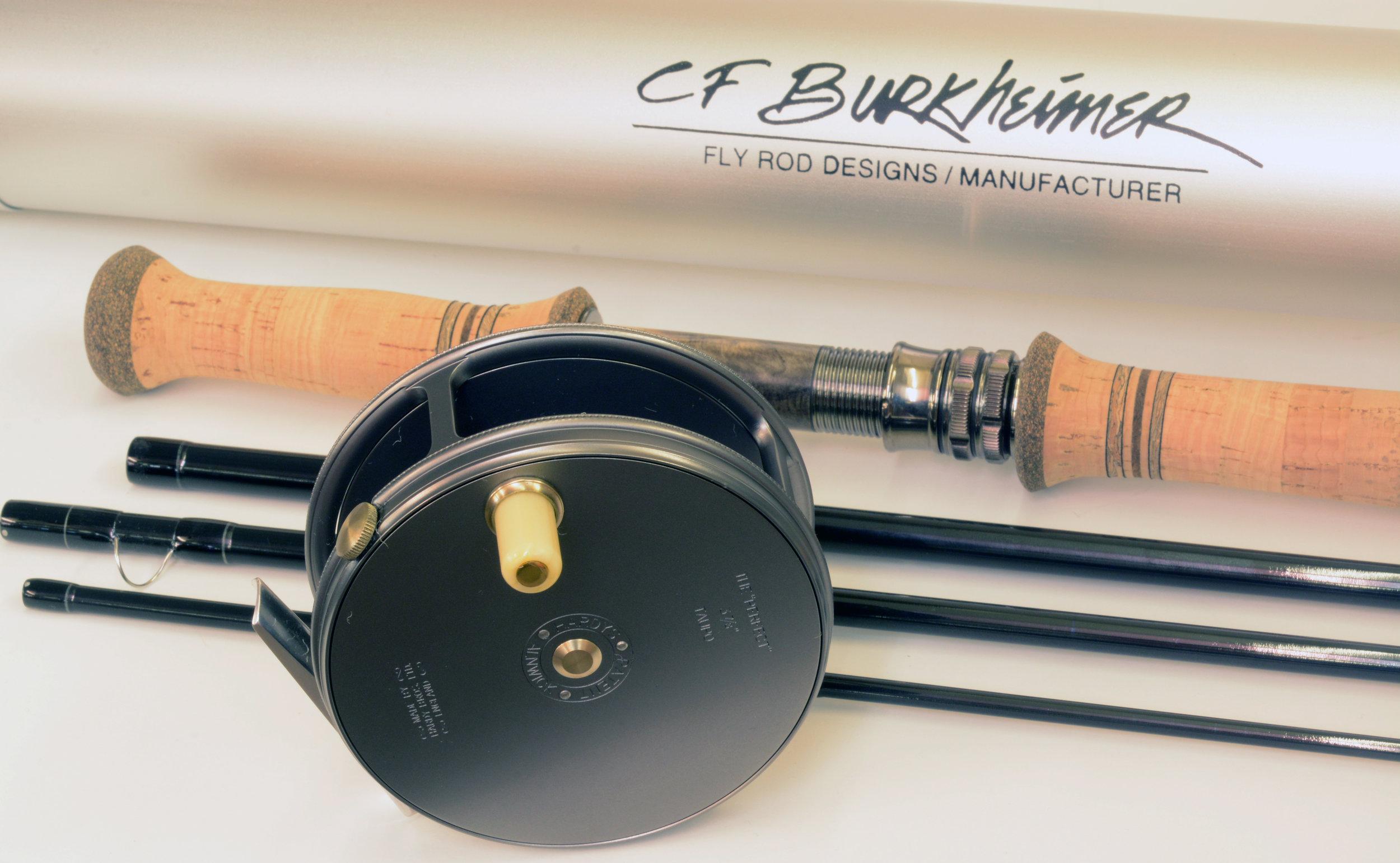 6139-4 CF Burkheimer Presentation with Hardy Taupo Reel 2