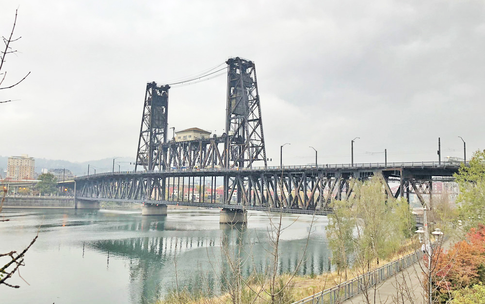 Portland's Steel Bridge - Nathaniel Barber Blog