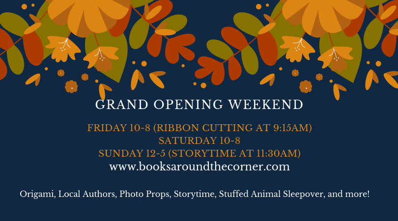 Books around the corner opening weekend.png
