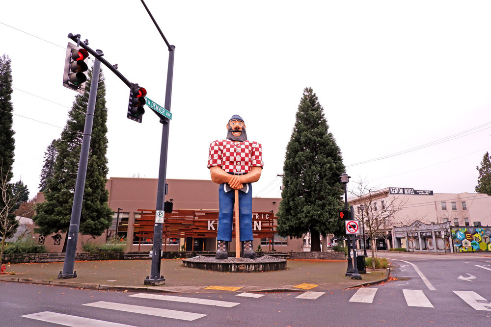 Paul Bunyan - Kenton, Oregon - Nathaniel Barber Blog