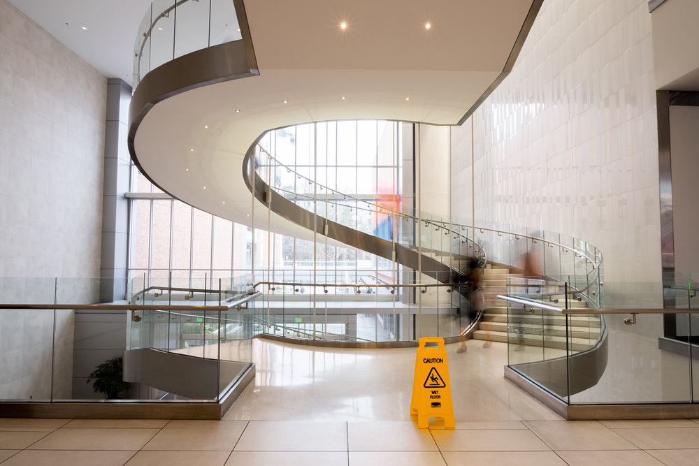 Spiral Staircase - Lloyd Center Mall - Nathaniel Barber Blog