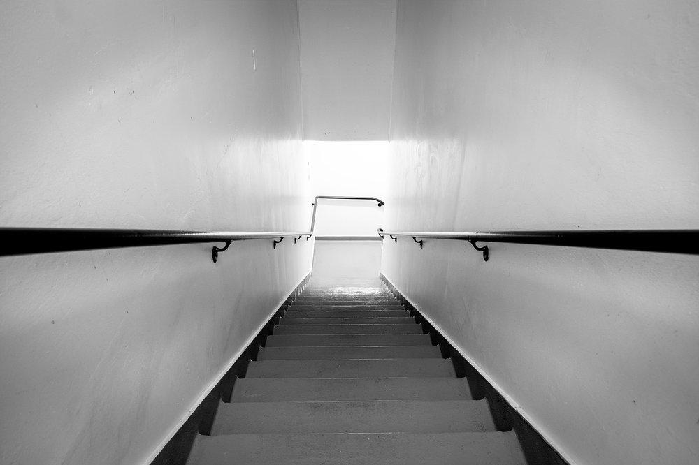 Staircase at Lloyd Center Mall - Nathaniel Barber Blog
