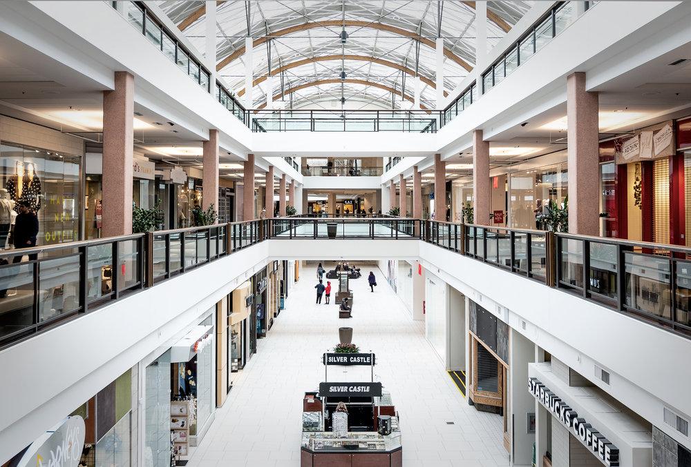 Lloyd Center walkways - Nathaniel Barber Blog