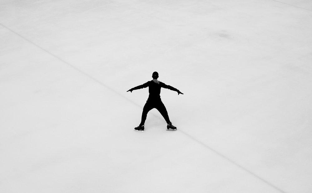Figure Skater - Lloyd Center Mall - Nathaniel Barber Blog