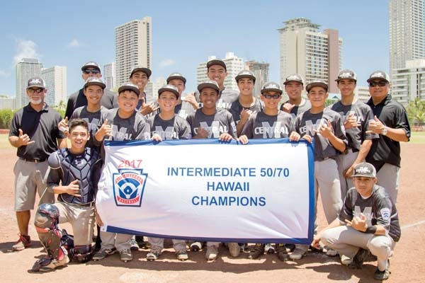Central East Maui Little League All Stars Claims 50/70 State Title - THE MAUI NEWS [JUL 7, 2017]