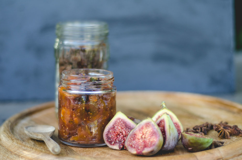 Fig & Orange Jam with Star Anise