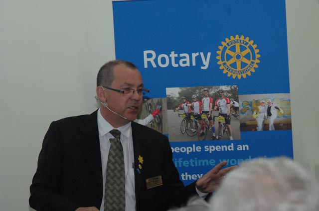 The Rotary Club of St Ives sponsors these Community Dementia Education events.
