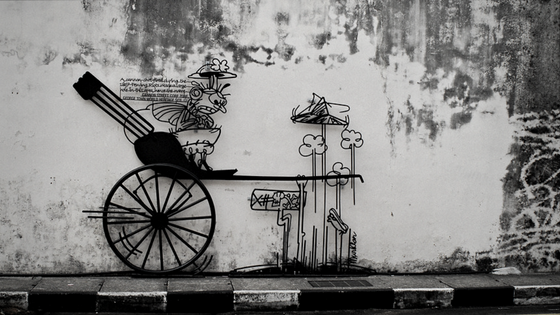 Cannon Hole - Marking George Town, Penang