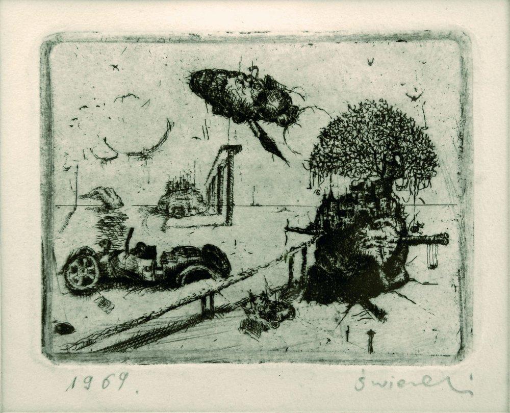Subconscious landscape, 1969