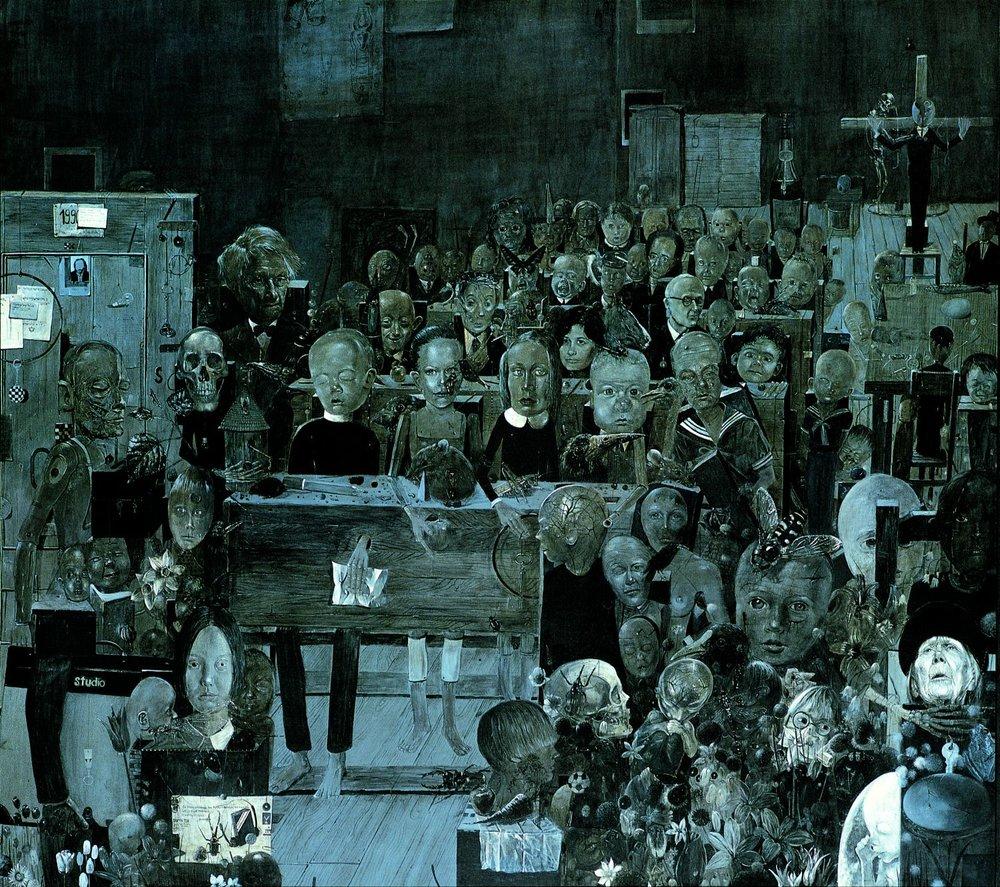 Umarła Klasa, 1989