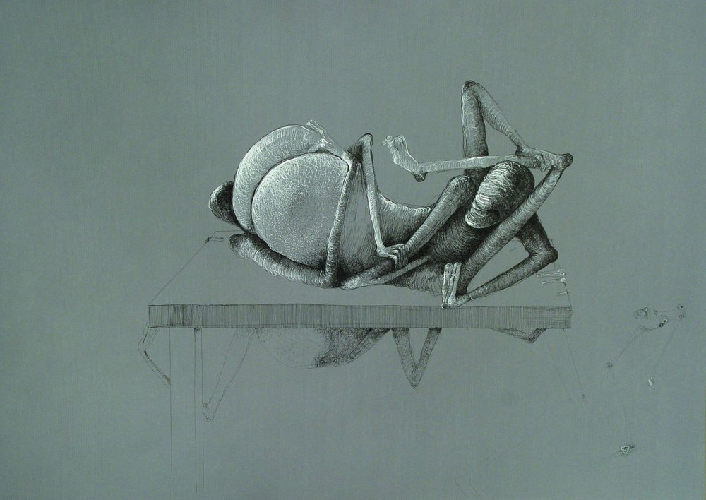 "Z cyklu ""Ecce Homo"", 2003"