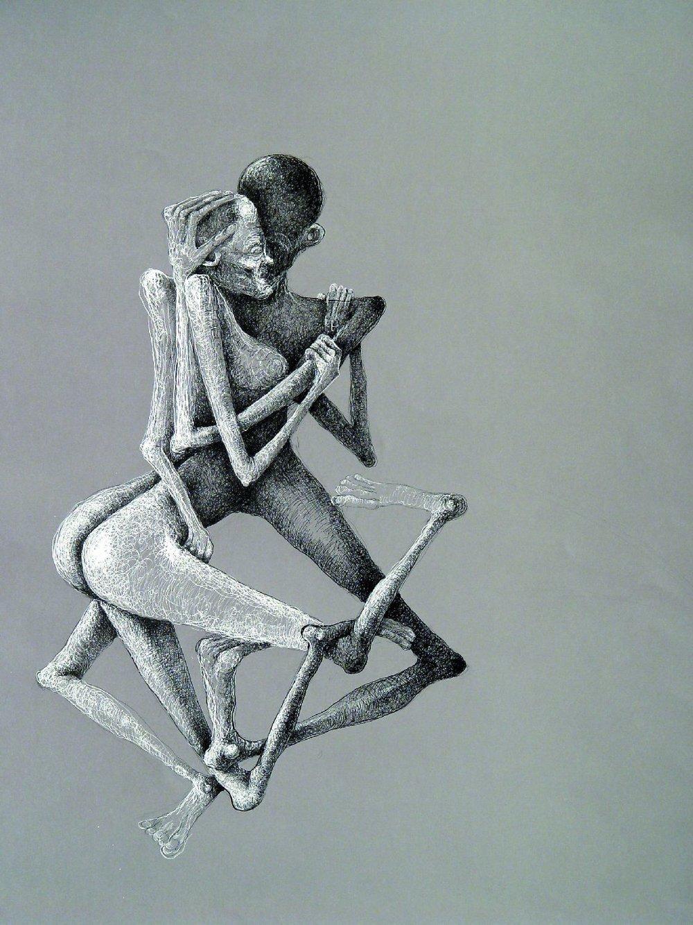 """Z cyklu """"Ludzkie zabawy XXI"""", 2002"""