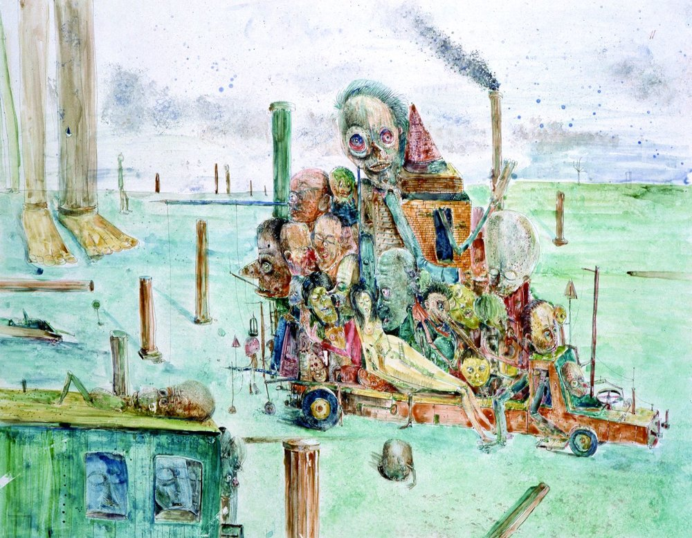 Composition, 1991