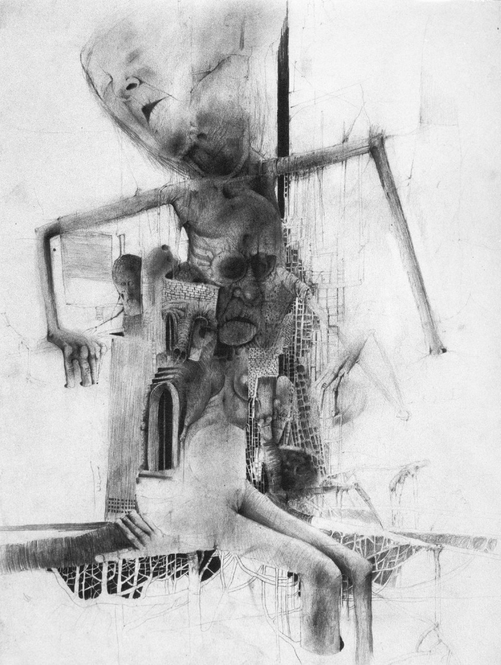 Receding, 1983