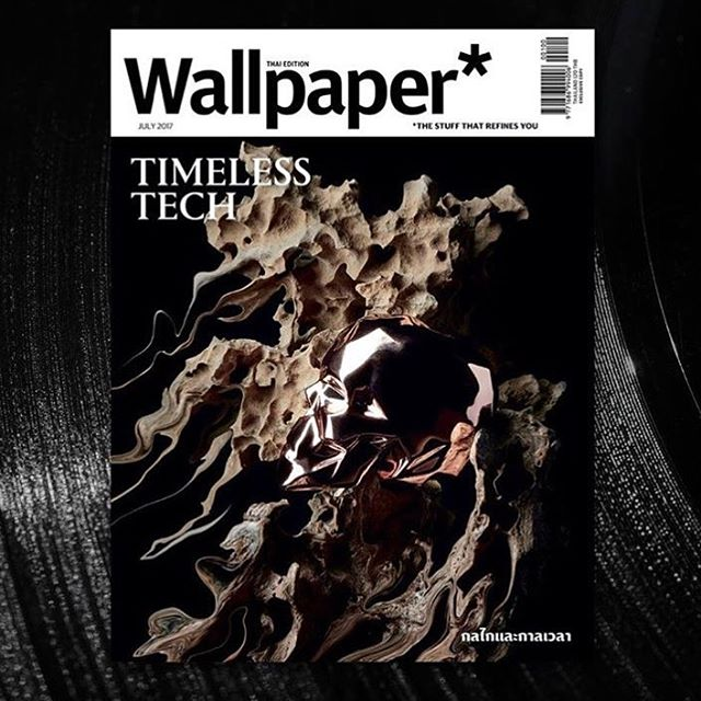 Big thank you to Wallpaper magazine Thailand to let my work shines on your July front cover. One of the best cover!! GEO Skull ceramic sculpture (rose gold) Available at @indahouse.store Room concept stores (Central Embassy, Emquartier and Siam Discovery)  Creative direction & designer : Ton Vajanapanich Ast. designer: Max Paramesh Sculpture artist: Noppadol Jangsomya  #skull #homedecor #wallpapermagazine #thailand #design #sculpture #swagliving