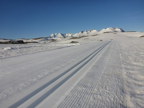 Foto: Sognefjellet sommarski