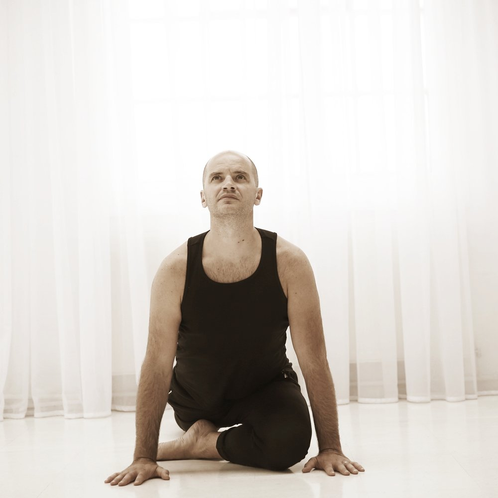 'Yoga is not about touching your toes. It is about what you learn on the way down.' Jigar Gor.