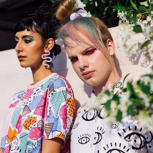 Recent collab with babe @tasha.faye 🌸 Hair @los_pastel  MUA @juliya_dia_mua  Models @vvilasini  from @handshakecreative & June Styling @chloeeclem
