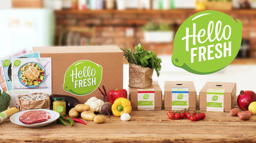 HelloFresh offers perfectly portioned ingredients for home cooking