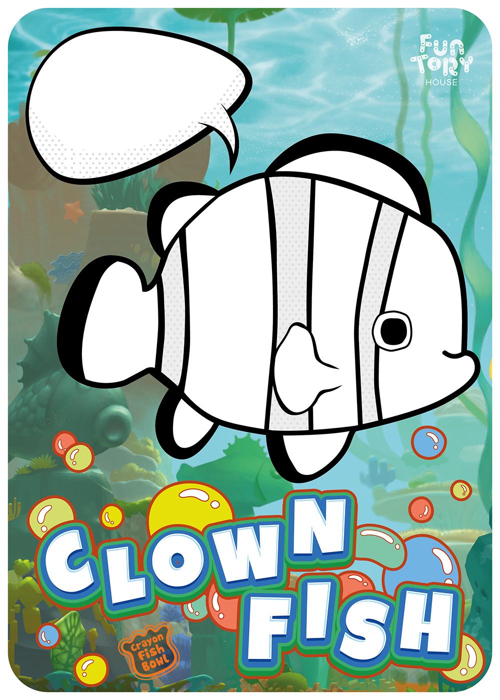 2. 크라운피쉬(Clownfish)