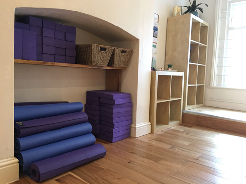 Bristol Yoga Centre studio