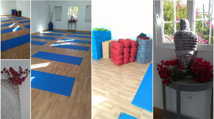 Purpose built yoga studio