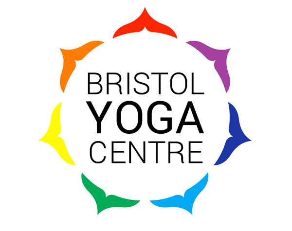 The finished logo of Bristol Yoga Centre