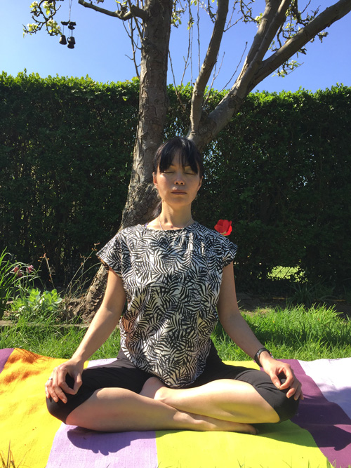 Naomi Hayama Meditation Under a Tree in Bristol