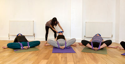 Yoga workshop at the Bristol Yoga Centre
