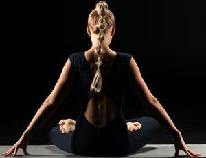 Yoga in the dark charity event by Bristol Yoga Centre