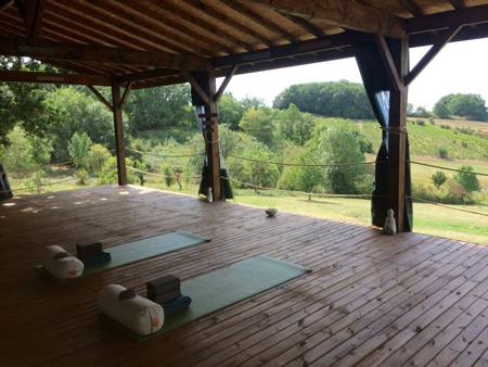 Yoga Retreat Shala in South West of France