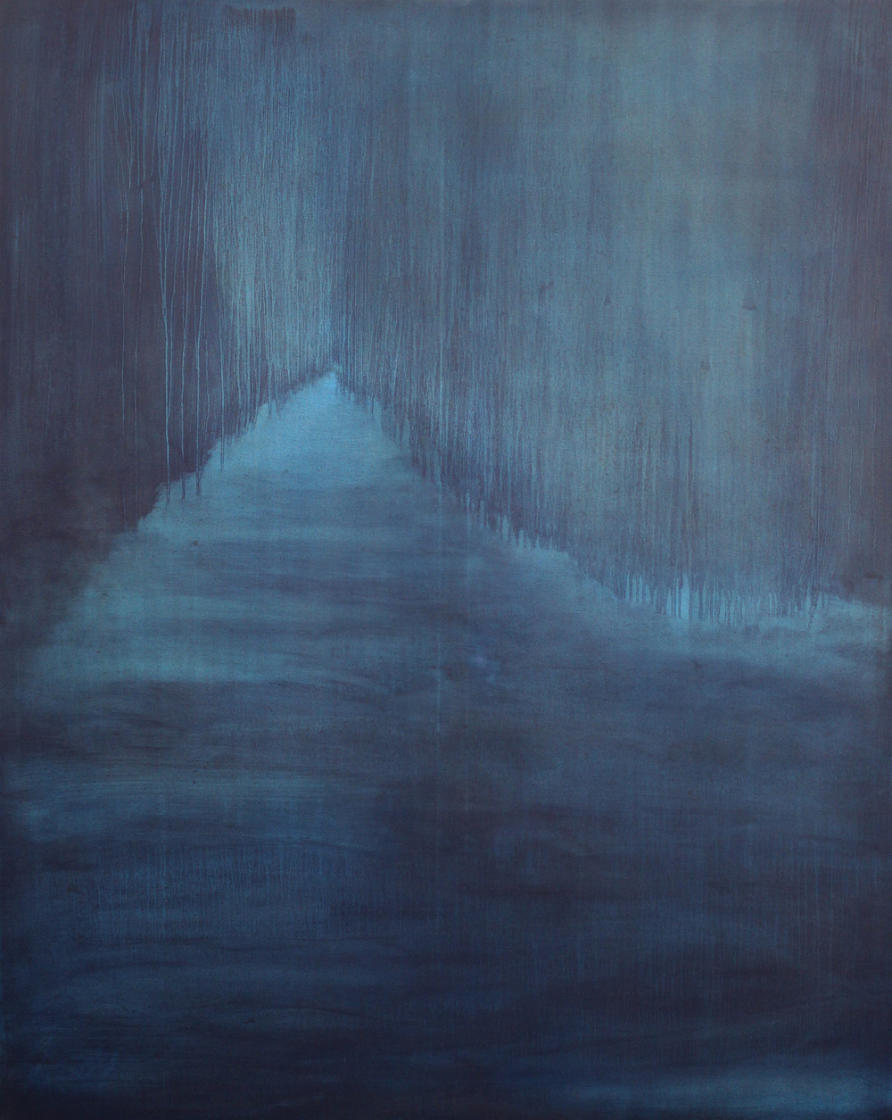 Lush, 2015, oil on canvas, 150 x 120cm