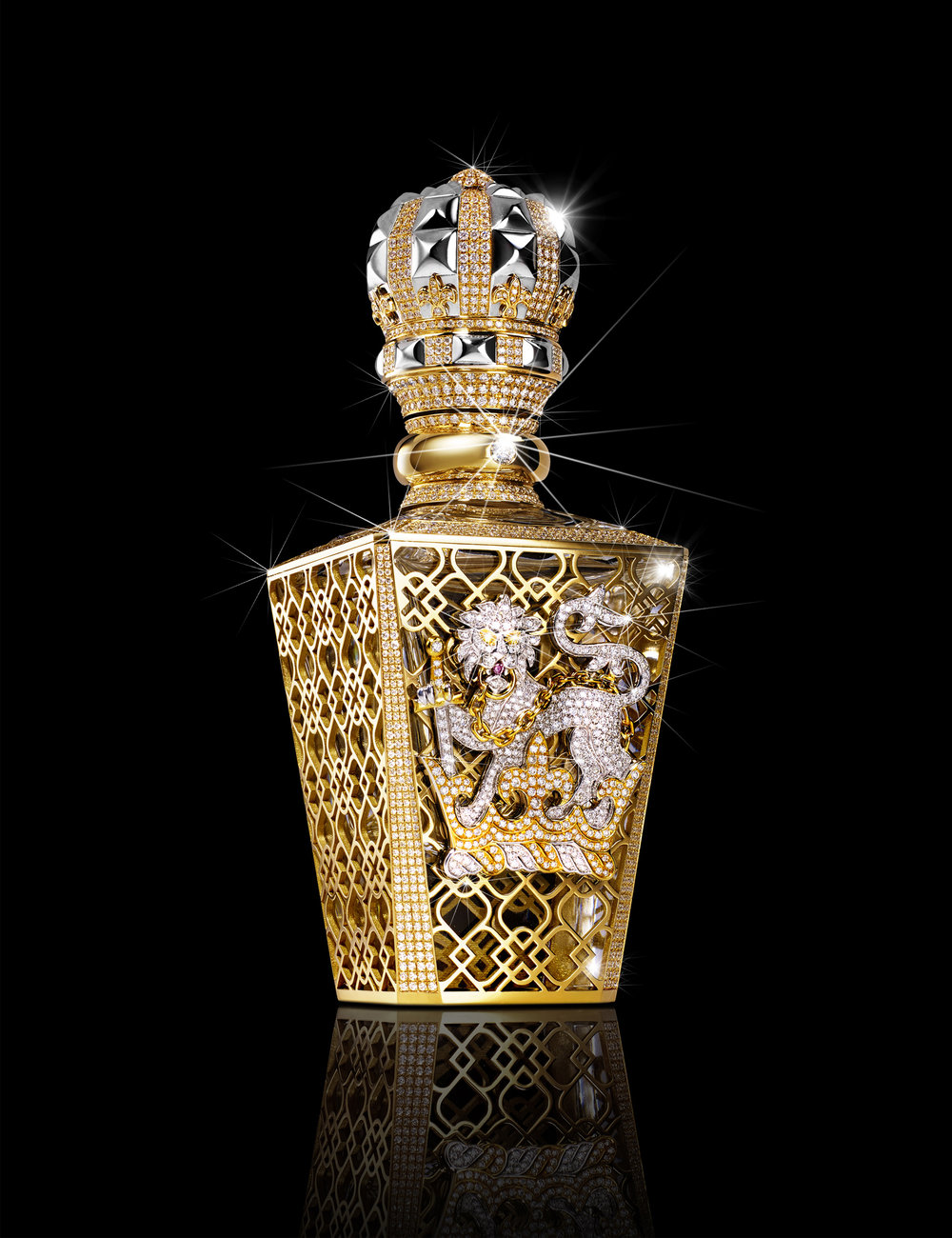 Perfume Bottle for Clive Christian - Available at Harrods 6th floor £143,000