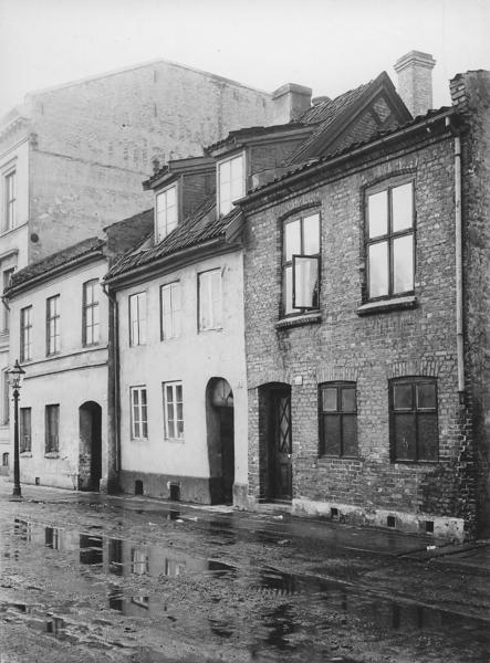 Gatebildet i Kristiania, året 1900. Foto: Olaf Martin Peder