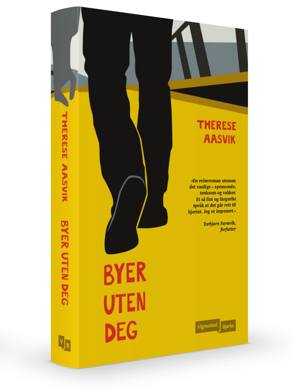 «En reiseroman utenom det vanlige – spennende, tenksom og vakker. Et så fint og fargerikt språk at det går rett til hjertet. Jeg er imponert.» (Torbjørn Færøvik, forfatter)  LES MER