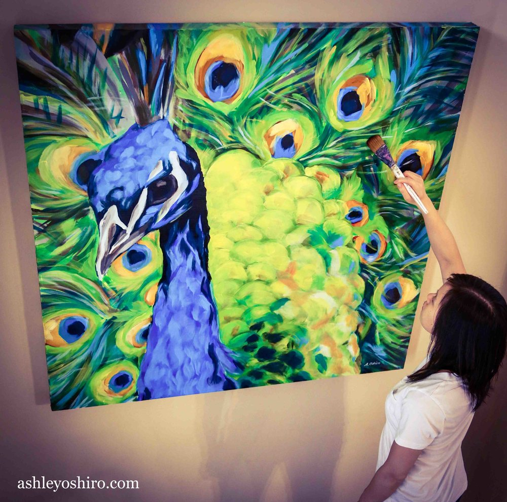 ashley_oshiro_calgary_artist_with_peacock_painting.jpg