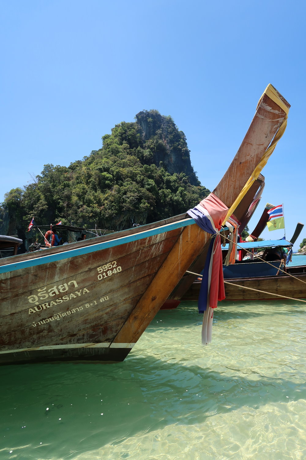 Longtailboat Thailand