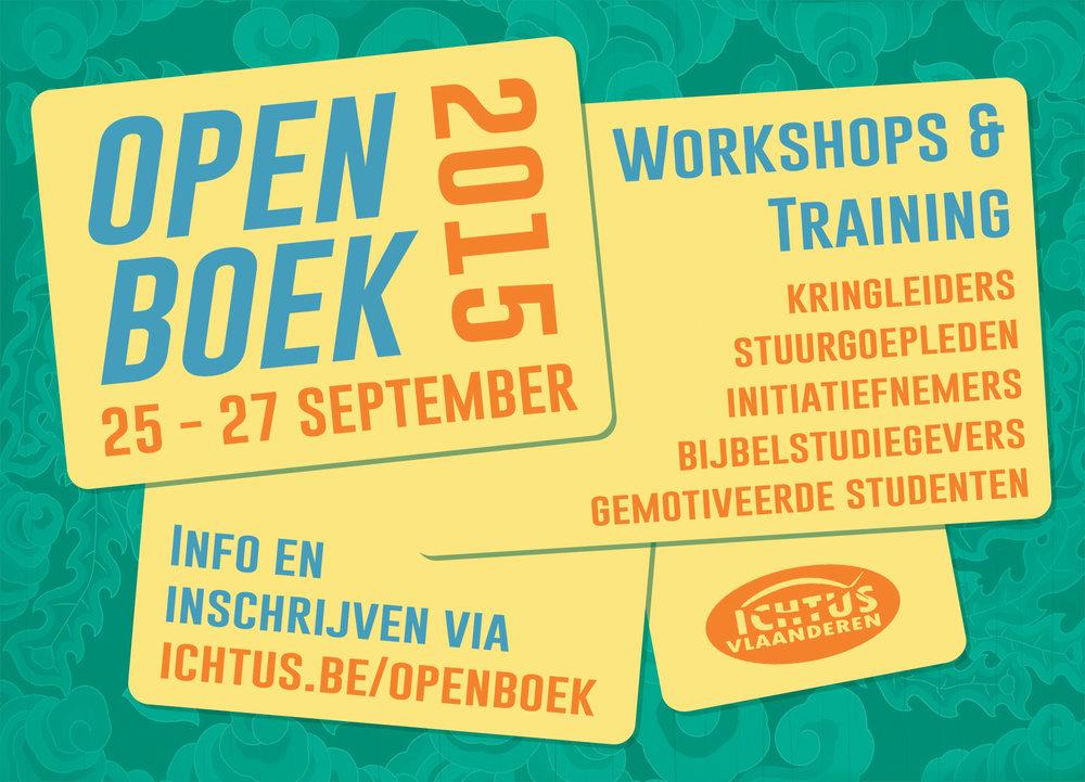 Open Boek 2015 - Front
