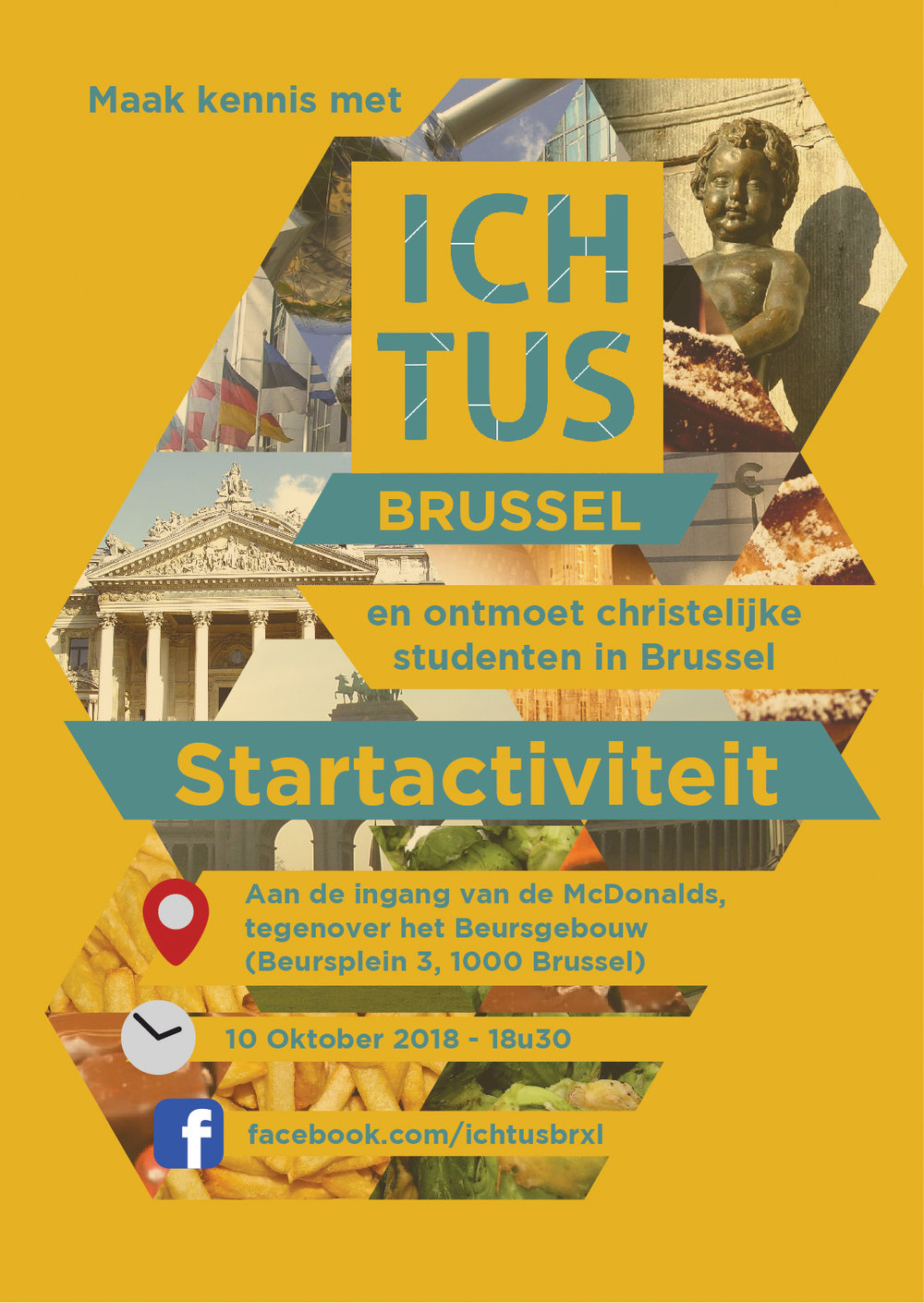 Icthus start activity - Flyer