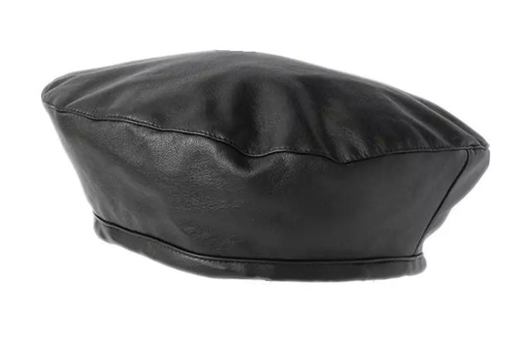 9861252bfb9e5 FOREH-Hella Black Beret — leticiahunt.com