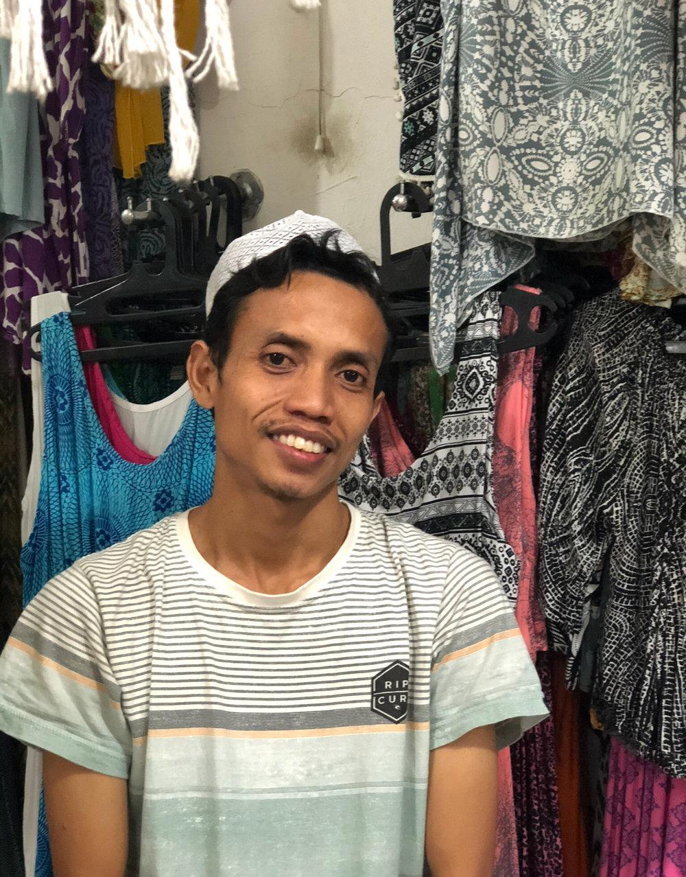 Balinese Local Merchant
