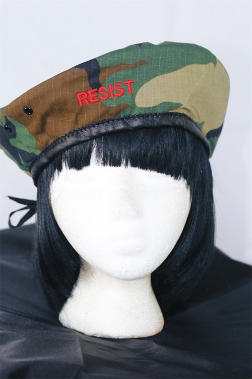 2c046679a87a5 FOREH- Camo FOREH Resist Beret