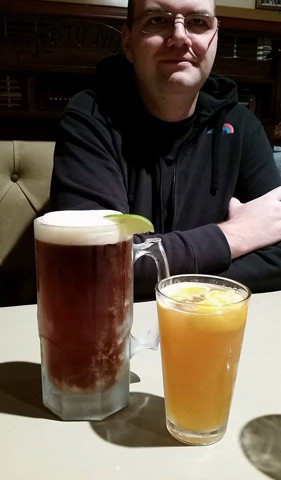 That time his pint was bigger than your pint.