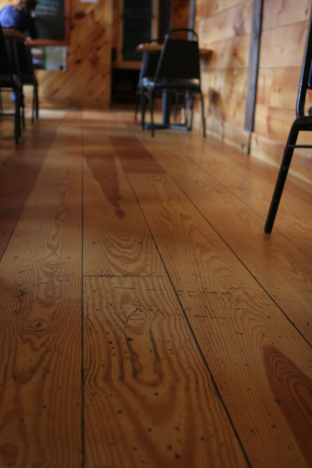The Town Tavern's Bleecher floor.JPG