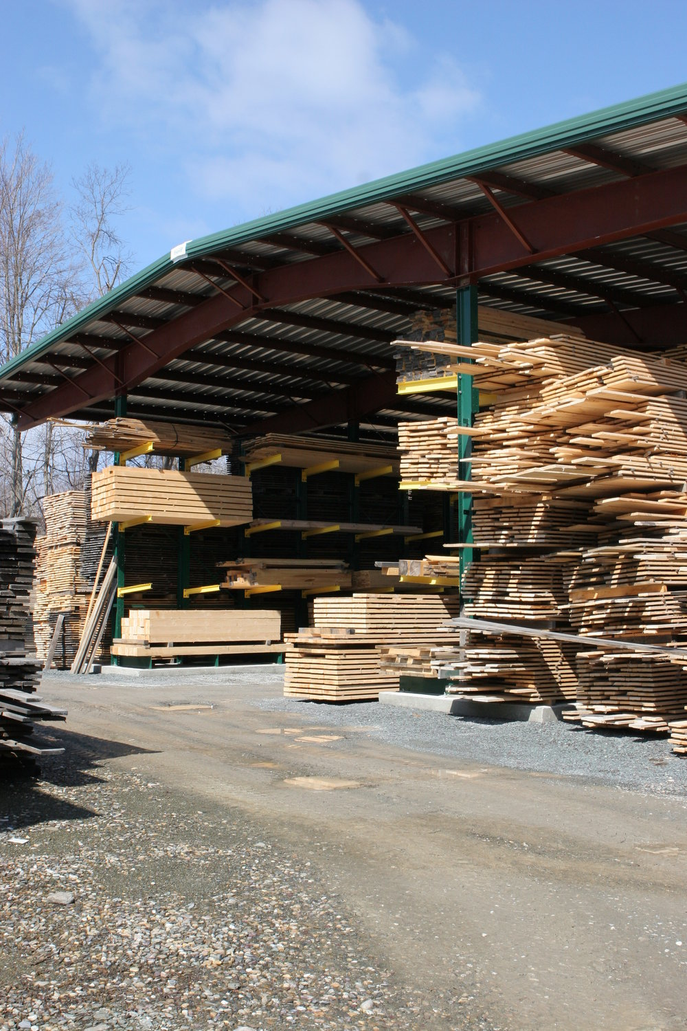 Visit our extensive yard