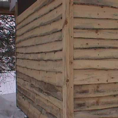 2x10 wisconsin for live edge 1x12 log slab siding for Log slab siding