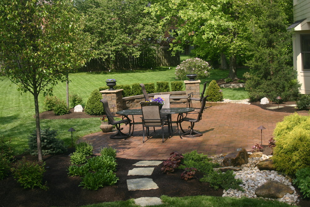 Before And After A Dated Deck Becomes A Timeless Paver Patio