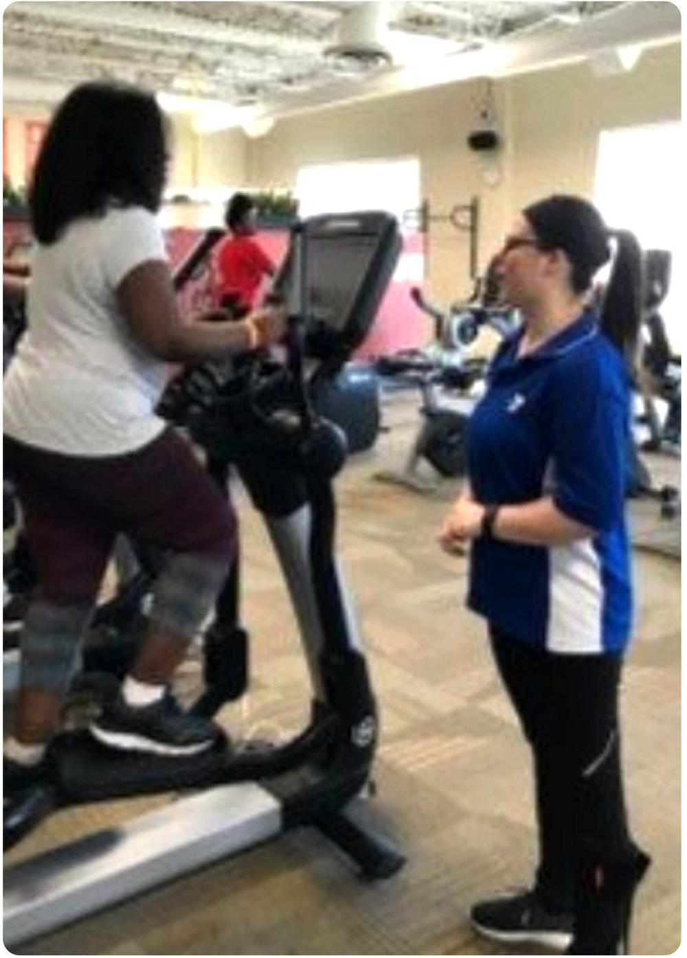 Sam as a YMCA Wellness Coach