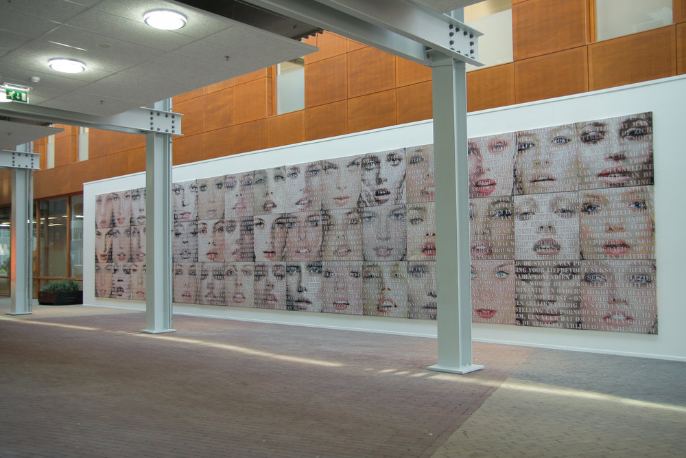 Open Mouths, the Fundatie, 2014