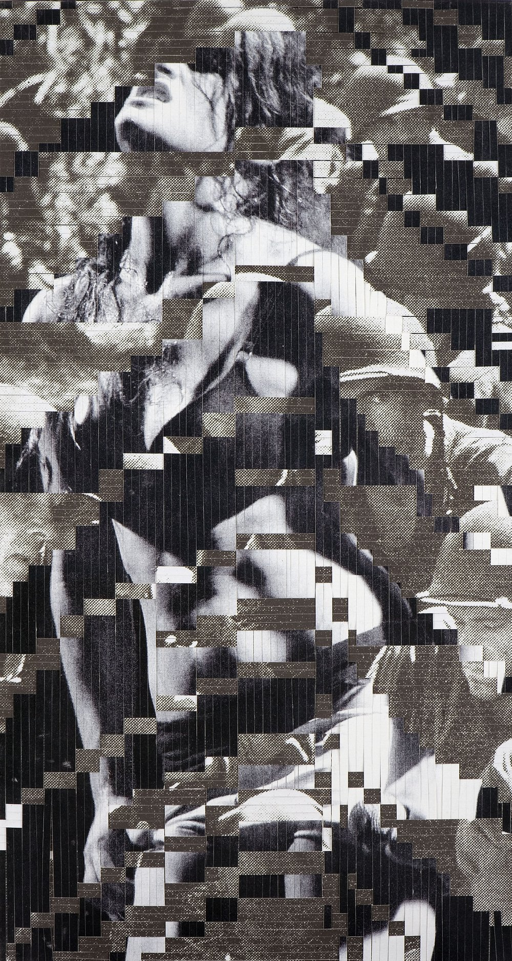 No.3, printed woven canvas, 225 x 118 cm